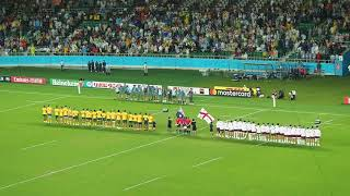 "National Anthem of GEORGIA ""თავისუფლება"" / Rugby World Cup 2019 日本 Japan"