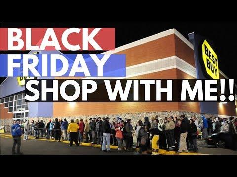 Black Friday 2018 Best Buy Black Thursday Walkthrough Shop With Me Haul
