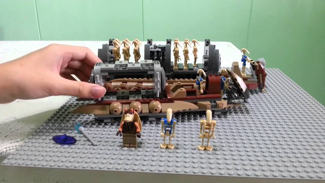 Lego Star Wars Battle Droid Troop Carrier Review - YouTube