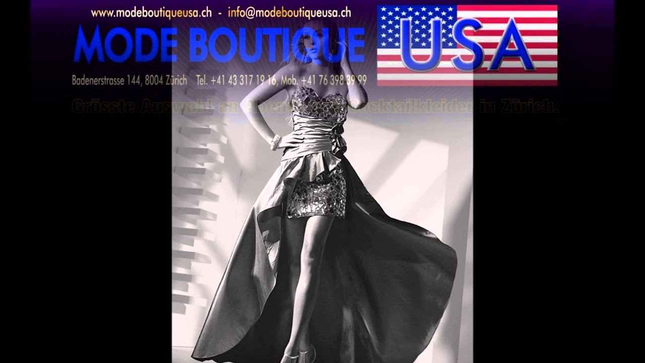 Mode Boutique Usa Zürich - YouTube