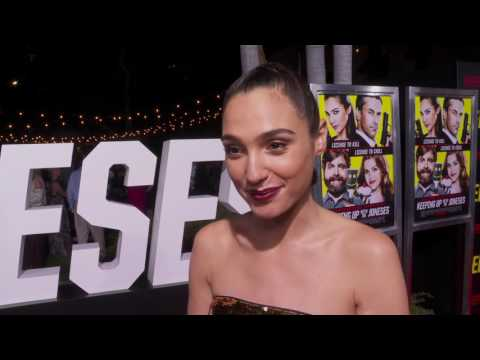 Keeping Up with the Joneses: Gal Gadot Red Carpet Movie Interview