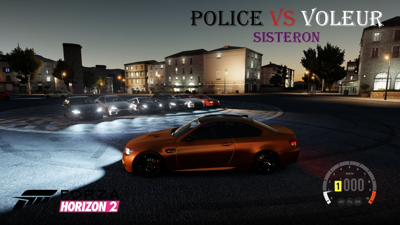 police vs voleur sisteron 4 forza horizon 2 youtube. Black Bedroom Furniture Sets. Home Design Ideas
