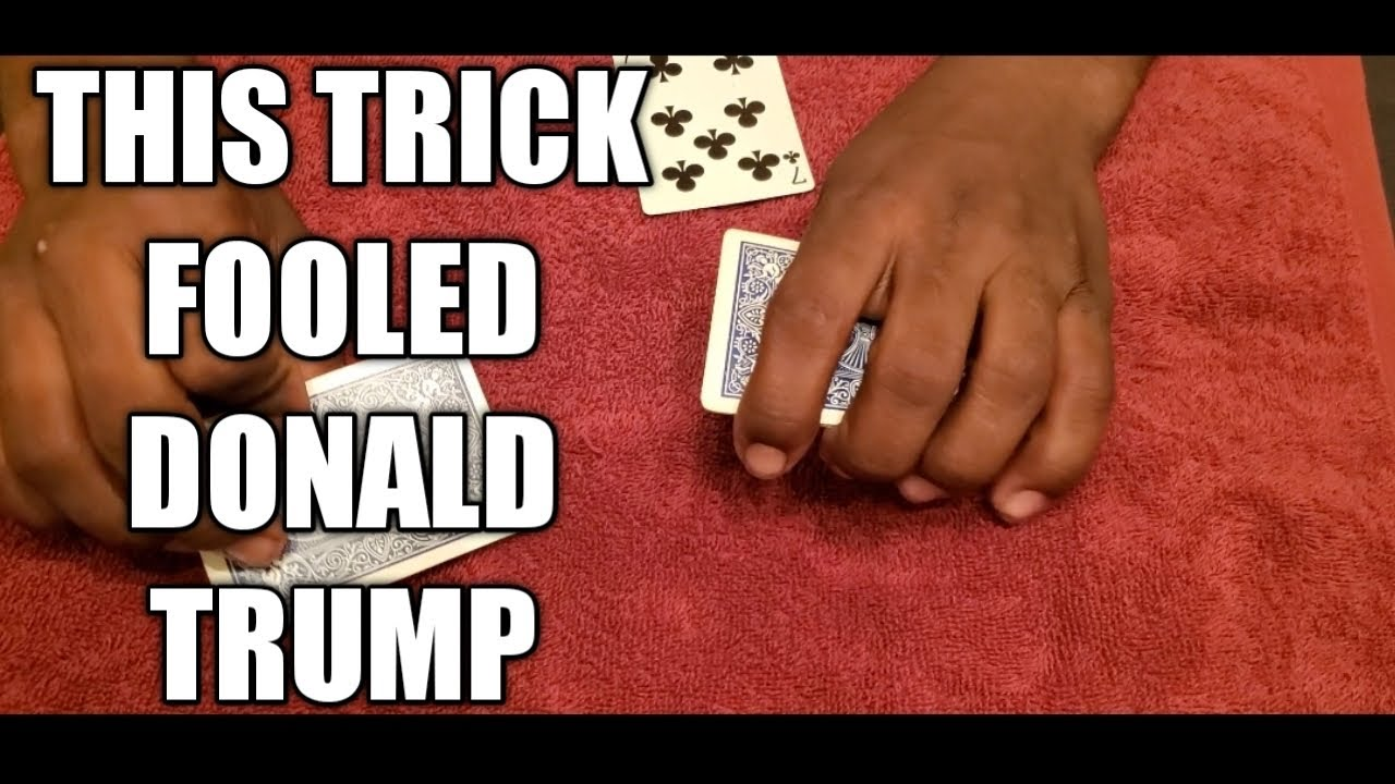easy and cool card trick to learn  youtube
