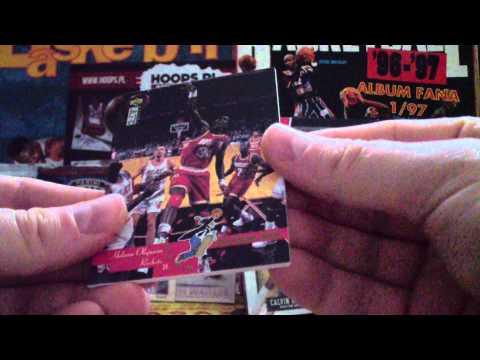 NBA BASKETBALL CARD SERIES #3 UPPER DECK BASKETBALL 1995/1996