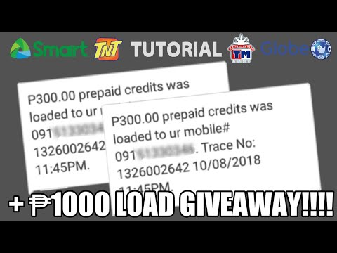 HOW TO GET ₱100 - ₱500 LOAD EVERYDAY - HACK! NEW TUTORIAL! + ₱1000 PESOS  LOAD GIVEAWAY!! ALL NETWORK