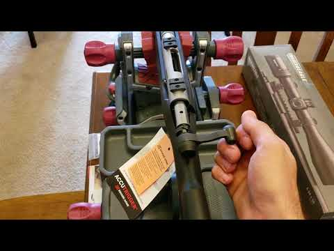 Savage B-mag 17wsm. Getting started down a path of challenges.