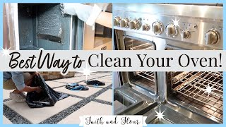The Best Way to Clean Your Oven!  (Non Self Cleaning) + My $1 All Natural Miracle Discovery!