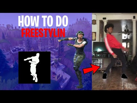 HOW TO DO FREESTYLIN FROM FORTNITE BATTLE ROYALE