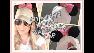 Diy Minnie Mouse Baseball Cap