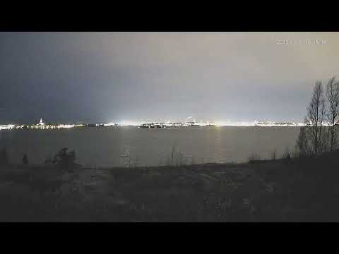 Helsinki Vasikkasaari Seaside Live of Suomenlinna and Lonna Island and City Skyline