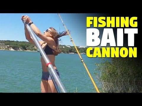 Fishing Cannon | Fishing Bait Launcher | Bunker Up Fishin'