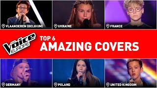 Download lagu Crazy good covers in The Voice Kids | TOP 6