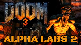 Doom 3 BFG Edition (100%) Walkthrough (Area 6: Alpha Labs Sector 2)