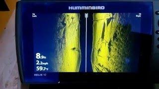 humminbird Helix в 10 Сі відео 1