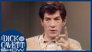 Ian McKellen Explains The Difference Between Acting on Stage and In Movies | The Dick Cavett Show