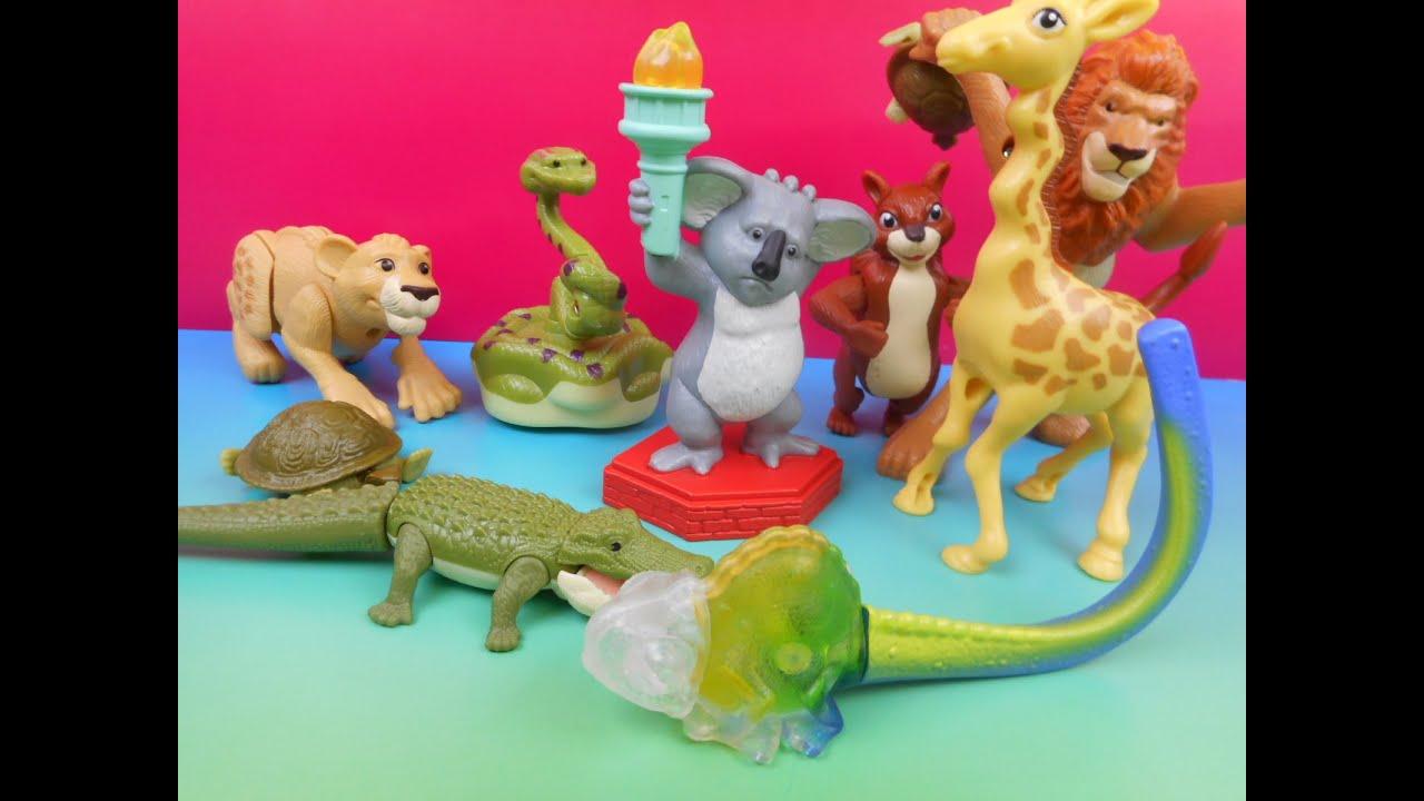 The Wild Toys : Walt disney s the wild happy meal set youtube