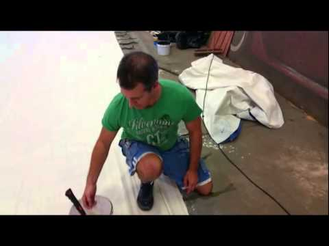 How To Paint A Backdrop – Part 1