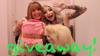 Closed December 2015 -TEN DAYS OF GIVEAWAYS - #6 - Cat Pajama Set-Kitty Cat Lounge pants-top