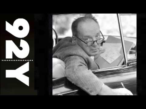 Vladimir Nabokov: Selected Poems and Prose | 92Y Readings