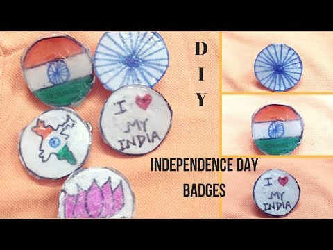 DIY!#IndependenceDay special badges!Lapel pins!Patriotic craft