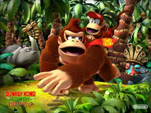 Donkey Kong Country Returns-Life In The Mines Returns