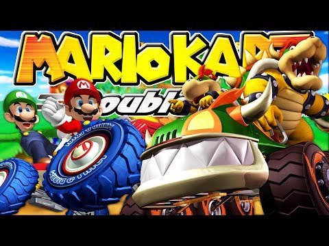 WHO IS THE BEST RACER!? MARIO KART DOUBLE DASH WITH FRIENDS!