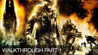 F.E.A.R. First Encounter Assault Recon Gameplay Walkthrough Part 1