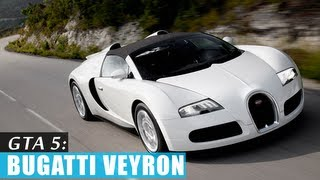 GTA 5: Bugatti Veyron gameplay (Truffade Adder)