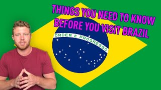 Baixar 12 Things YOU Should NOT do when You VISIT BRAZIL
