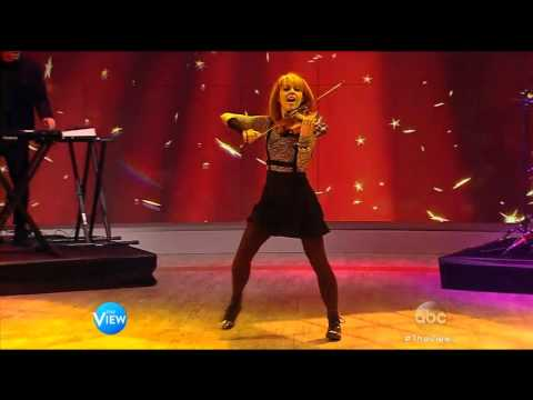Lindsey Stirling Performs on The View