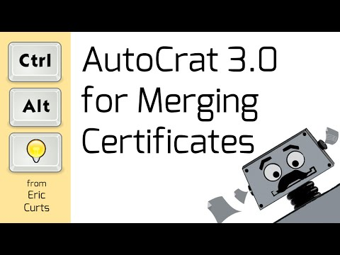AutoCrat 3.0 for Merging Certificates