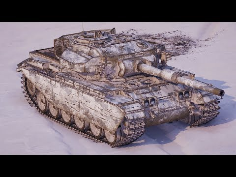 World of Tanks Centurion Mk. 7/1 - 7 Kills 9,4K Damage thumbnail