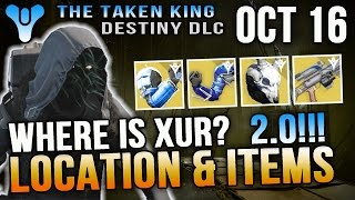 Xur Location October 16 2015 Destiny Where is Xur 10/16/15 Hereafter & Glass Needles