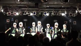 2/12 ネコプラのリリースパーティにて披露した新曲「その点パンダは素晴...