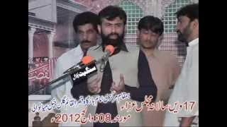 zakir ali raza daud khel 2013 Gullan Khail mainwali