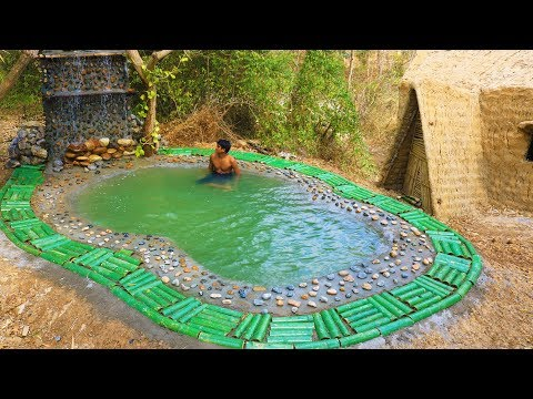 Secret Of Primitive: Build Beautiful  Fresh Swimming Pool  By Ancient Skills
