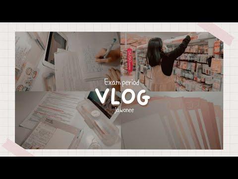 Những ngày ôn thi // study vlog #4 // jawonee