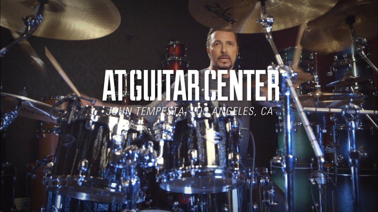 John Tempesta At Guitar Center