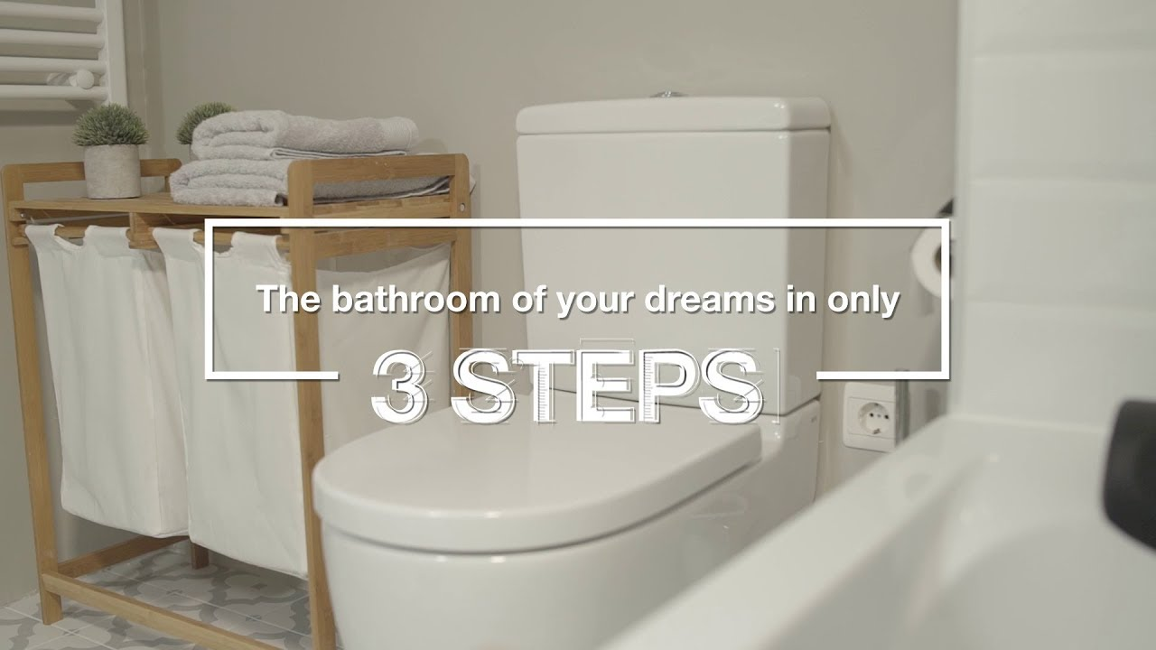 Renovate Your Bathroom In Just 3 Steps With 3r Roca Life