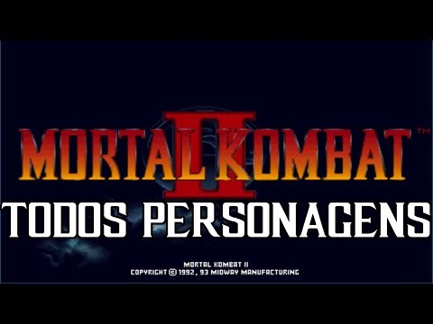 🔴 MORTAL KOMBAT 2 TODOS OS PERSONAGENS VERY HARD [ AO VIVO ] - FEAT BRAZZILLERO MK BRASIL