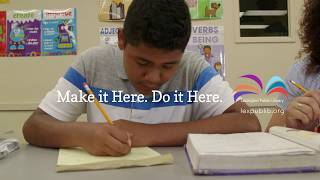 Lexington Public Library: Make it Here. Do it Here. Carlos