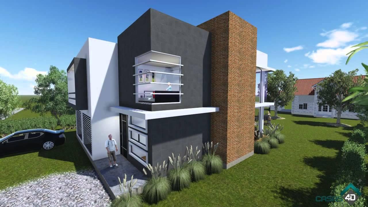 Casa habitacion prototipo p15 001 youtube for Proyecto casa habitacion minimalista