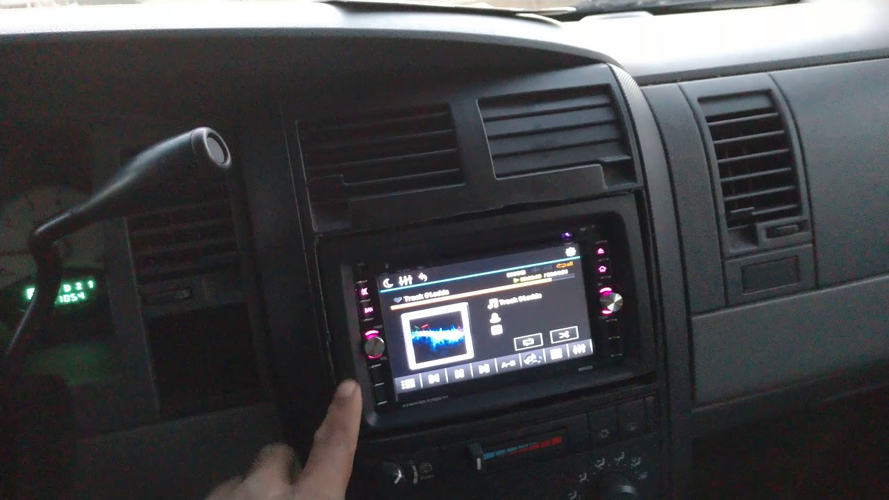 2005 Dodge Durango Double Din Radio Install