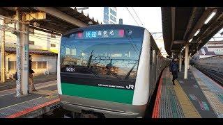 【相鉄↔️JR埼京線直通運転】1日1本だけのレア運用 川越発海老名行レポート