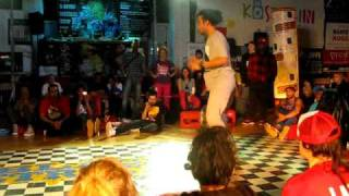 Black Streets Koszalin 2011 - hip-hop 1vs1 Finał - Serdar/Lunatix vs Aldo Ardo/ Bad Newz MP