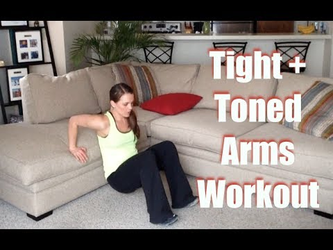 10 minute arm workout for women tight  toned arms  youtube