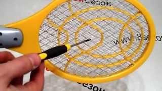Электрическая мухобойка обзор