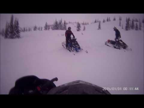 snowmobiling in Fernie,B.C March 2017