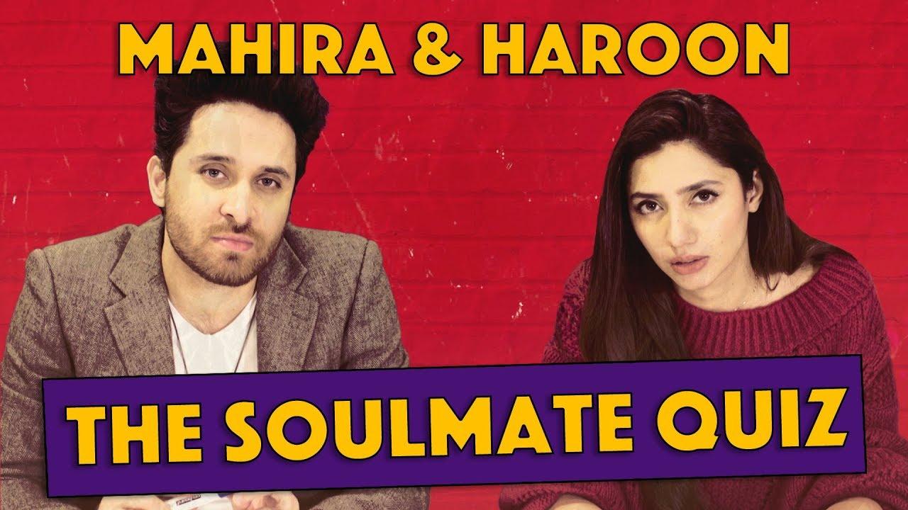 The Soulmate Quiz with Mahira Khan and Haroon Shahid | MangoBaaz