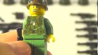 Lego brickarms / Обзор брикармс (оружия для Лего) на Вьетнамскую войну /brickarms Vietnam war
